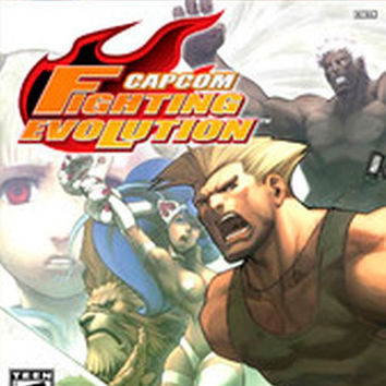 Capcom Fighting Evolution (Microsoft Xbox, 2005) Complete