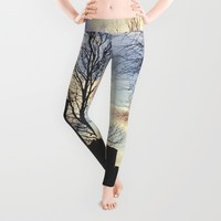 Central Park Leggings by Haroulita | Society6
