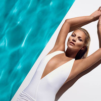 Kate Moss - The Body and Face of The Ultimate Tan - St. Tropez