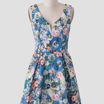 In The Fields Floral Dress