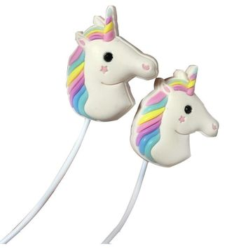 Unicorn Earphones With Microphone