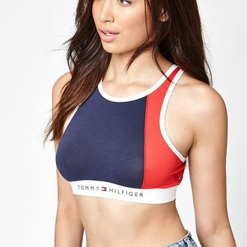 Tommy Hilfiger High Neck Bra at PacSun.com