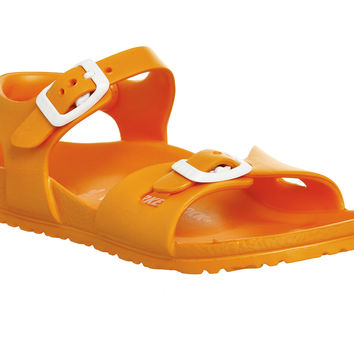Birkenstock Rio Eva Kids Neon Orange - Unisex