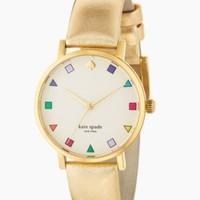gold patchwork metro - kate spade new york