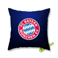 Bayern Muenchen Fc Logo Square Pillow Cover