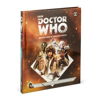 Doctor Who RPG 4th Doctor Hardcover Guide