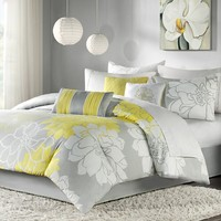 Madison Park Brianna Comforter Set (Yellow)