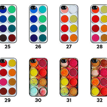 ALL IN - Paintbox - Paint Palette - Paint Colors - Watercolor Palette - Available for iPhone 4 / 4S / 5 / 5C / 5S - PBX