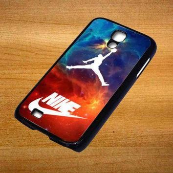 CREYUG7 air jordan nike nebula For Samsung Galaxy S4 Case *76*