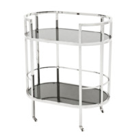 Silver Bar Cart | Eichholtz Townhouse