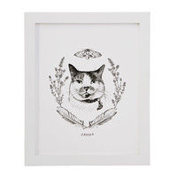 Custom Pet Illustration | Personalized Dog and Cat Prints