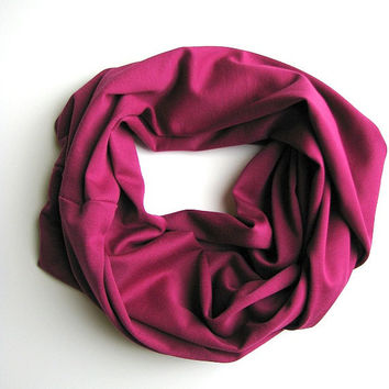 Infinity Scarf | Magenta | Kindred Spirit Collection