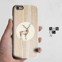Wood Antelope Animal iPhone 6 Case,iPhone 6 Plus Case,iPhone 5s Case,iPhone 5C Case,4/4s Case,Samsung Galaxy S5/S4/S3/Note 3/Note 2 Case