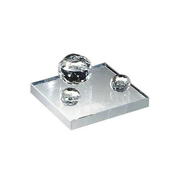 Personalized Free Engraving Crystal Business Card Holder