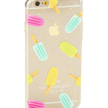 Clear Ice Pop Soft Case for iPhone 7 Plus