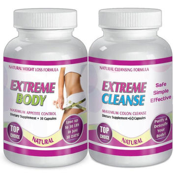Extreme Cleanse and  Body Weight Loss Diet System Kit 30 Day Supply
