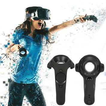 For HTC Vive Headset VR Silicone Case Cover VR Headset Anti-slip Wireless Control Gamepad Silicone Case Cover