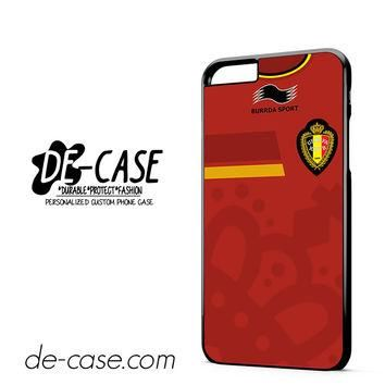 Belgium Soccer Jersey DEAL-1724 Apple Phonecase Cover For Iphone 6 / 6S Plus