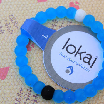2015 Hot Fashion Jewelry Lokai Bracelet white and blue lokai bracelet S,M,L