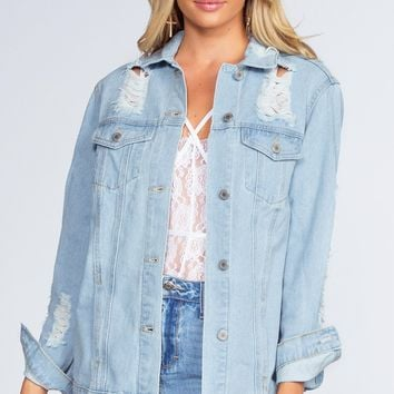Shred On Denim Jacket