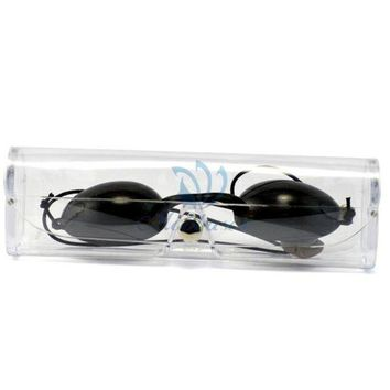 DCCKKFQ goggles ipl laser protection goggles elight protection safety goggles black color CE