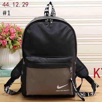 NIKE 2018 trend men and women wild casual large volume travel leisure backpack #1