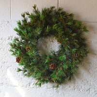 Tahoe Faux Pine Wreath