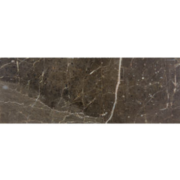 Shop allen + roth Emperador Espresso Marble Natural Stone Wall Tile (Common: 3-in x 8-in; Actual: 2.87-in x 7.75-in) at Lowes.com