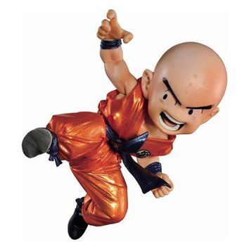 Dragon Ball Krillin SCultures Metallic Statue