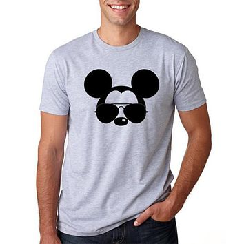 Men T Shirt Mickey Mouse Tshirt Plus Size Harajuku Shirt T-shirt Funny T Shirts Graphic Tees Men Oversized Streetwear XS-3XL