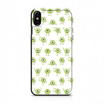 Mike Wallpaper Monsters Inc iPhone X Case