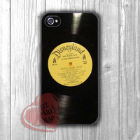 Disneyland Most beloved songs Records Retro -dtw for iPhone 4/4S/5/5S/5C/6/ 6+,samsung S3/S4/S5,samsung note 3/4
