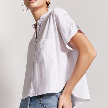 Boxy High-Low Shirt