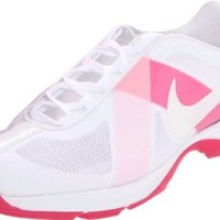 Nike Golf Women's Lunar Summer Lite Golf Shoe,White/Prism Pink,8 M US