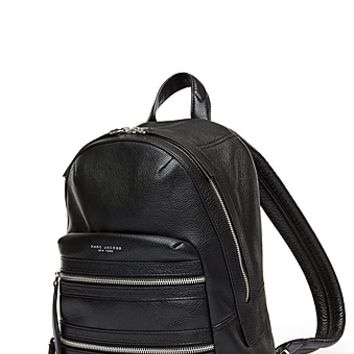 Leather Biker Backpack - Marc Jacobs