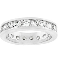 Lustrous Eternity Band