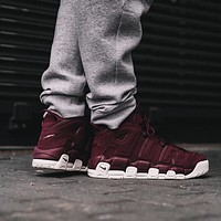 Nike Air More Uptempo Maroon