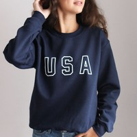 USA Oversized Sweatshirt