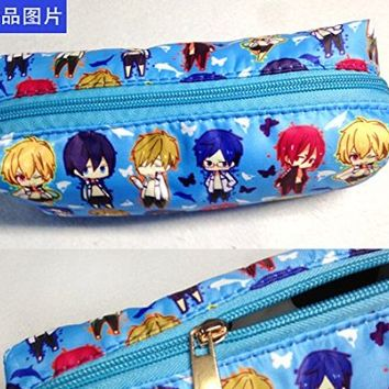 Free! Iwatobi Swim Club Anime Bag Pencil case Mobile phone Bag Cos Gift High Capacity