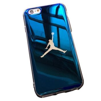 Blu-ray laser Ultra Thin Michael Jordan Soft Case For iPhone