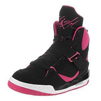 Jordan FLIGHT 45 HIGH IP GG girls basketball-shoes 837024 jordans shoes for girl