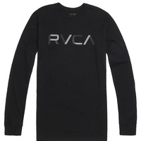RVCA Swatch T-Shirt - Mens Tee - Black
