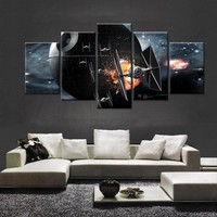 Star Wars TIE Fighters Death Star