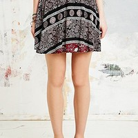 Staring at Stars Border Crinkle Skirt - Urban Outfitters