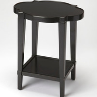 Jobert Traditional Oval End Table Black
