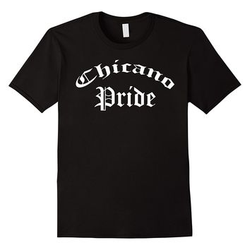 Chicano Pride Old English Tee Shirt