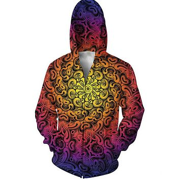 Call To Adventure Premium Psychedelic Hoodie