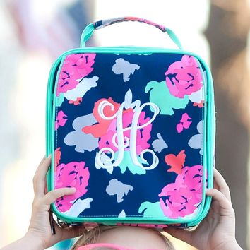 Amelia Monogrammed Lunch Box