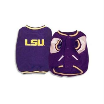 ONETOW LSU Tigers Varsity Dog Jacket