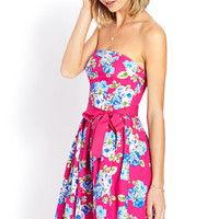 Garden Party Tube Dress